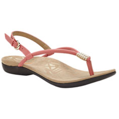 dr. weil integrative footwear accomplish sandal (coral / gold)