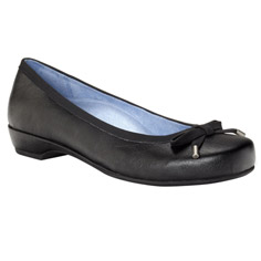 vionic with orthaheel technology olivia shoe - black