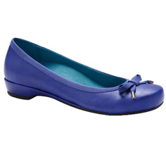 vionic with orthaheel technology olivia shoe - cobalt